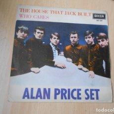 Discos de vinilo: ALAN PRICE SET, SG, THE HOUSE THAT JACK BUILT + 1, AÑO 1967. Lote 278342708