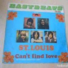 Discos de vinilo: EASYBEATS, THE, SG, ST. LOUIS + 1, AÑO 1969. Lote 278343828
