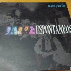 """Discos de vinilo: DISCO VINILO MAXI ESPONTANEOS """"UN BESO Y UNA FLOR"""". Lote 278347113"""
