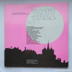 Discos de vinilo: 40 ANS DE JAZZ GENEVOIS. L' ASSOCIATION GENEVOISE DES MUSICIENS DE JAZZ. DOBLE LP. TDKDA1. Lote 278349383