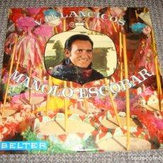 Discos de vinilo: LP. VILLANCICOS DE MANOLO ESCOBAR. 1969.. Lote 278350108