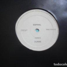 Disques de vinyle: ESPIRAL  DUNNE. Lote 278350913
