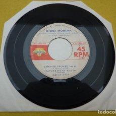 "Discos de vinilo: 7"" SINGLE EP DIOSA MORENA - PLEGARIA DE PAZ - VENEZUELA - DISCOMODA (-/VG). Lote 278353728"