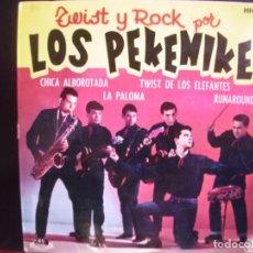 Discos de vinilo: LOS PEKENIKES- TWIST Y ROCK POR. EP.. Lote 278364708