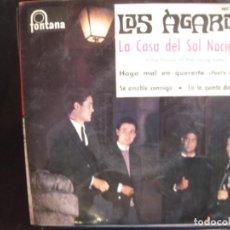 Discos de vinilo: LOS AGAROS- LA CASA DEL SOL NACIENTE. EP.. Lote 278365388