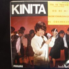 Discos de vinilo: KINITA- YA TE TENGO. EP.. Lote 278367278