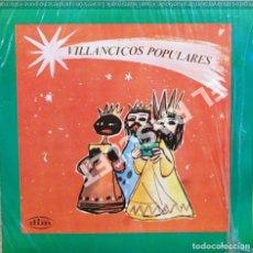 Discos de vinilo: MAGNIFICO SINGLE DE VILLANCICOS POPULARES. Lote 278367823
