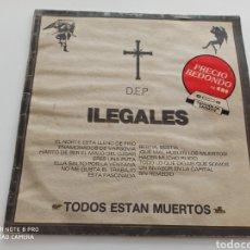 Discos de vinilo: ILEGALES - TODOS ESTÁN MUERTOS (LP). Lote 278295368