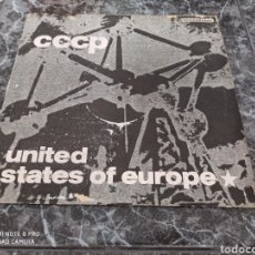 "Discos de vinilo: CCCP* - UNITED STATES OF EUROPE (RAZORMAID REMIX) (12"", MAXI). Lote 278298878"