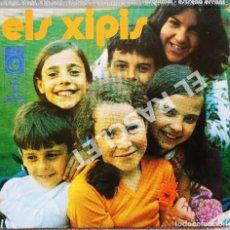 Discos de vinilo: MAGNIFICO SINGLE DE ELS XIPIS - L' ESQ UIMAL. Lote 278368488