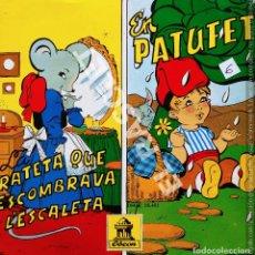 Discos de vinilo: MAGNIFICO SINGLE DE CUENTOS INFANTILES : LA RATETA QUE ESCOMBRAVA L' ESCALETA - EN PATUFET. Lote 278369028