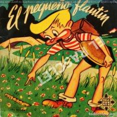 Discos de vinilo: MAGNIFICO SINGLE DE CUENTOS INFANTILES : EL PEQUEÑO FLAUTIN. Lote 278371008