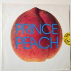 Discos de vinilo: PRINCE- PEACH- EUROPE MAXI SINGLE 1993- VINILO COMO NUEVO.. Lote 278374053