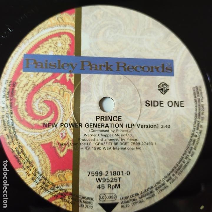Discos de vinilo: PRINCE- NEW POWER GENERATION- EUROPE MAXI SINGLE 1990- COMO NUEVO. - Foto 3 - 278374633