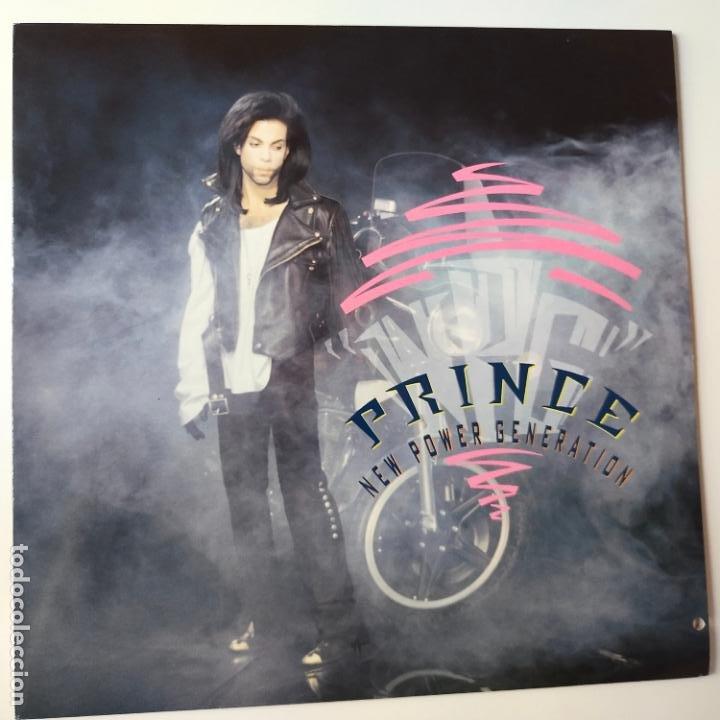 PRINCE- NEW POWER GENERATION- EUROPE MAXI SINGLE 1990- COMO NUEVO. (Música - Discos de Vinilo - Maxi Singles - Pop - Rock Internacional de los 90 a la actualidad)