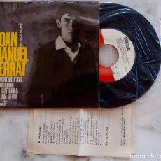 Discos de vinilo: JOAN MANUEL SERRAT. LA MORT DE LÁVI + 3 . EP ORIGINAL EDIGSA 1965 + ISERTO LETRAS. Lote 278376988