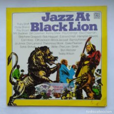 Discos de vinilo: JAZZ AT BLACK LION. DOBLE LP. TDKDA1. Lote 278377603