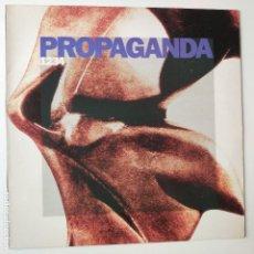 Discos de vinilo: PROPAGANDA- 1234- SPAIN LP 1990 + ENCARTE- VINILO COMO NUEVO.. Lote 278382233