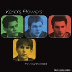 Discos de vinilo: LP KARA'S FLOWERS THE FOURTH WORLD VINILO POWER POP. Lote 278390508