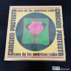 Disques de vinyle: CANCIÓN PROTESTA. Lote 278401118