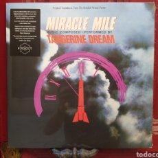 Discos de vinilo: TANGERINE DREAM–MIRACLE MILE. LP VINILO NUEVO PRECINTADO. Lote 278401708