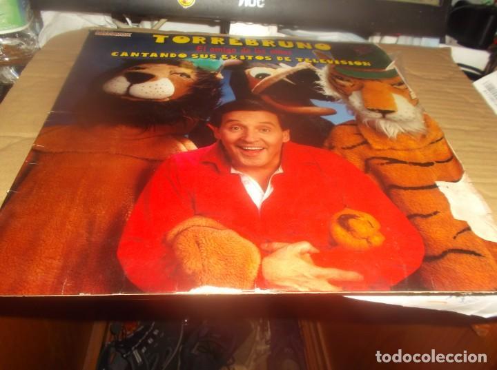 LP - TORREBRUNO - EL AMIGO DE LOS NIÑOS-CANTANDO SUS EXITOS DE TELEVISION- HISPAVOX-1981 (Música - Discos - LPs Vinilo - Música Infantil)