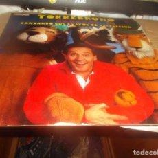 Discos de vinilo: LP - TORREBRUNO - EL AMIGO DE LOS NIÑOS-CANTANDO SUS EXITOS DE TELEVISION- HISPAVOX-1981. Lote 278403398