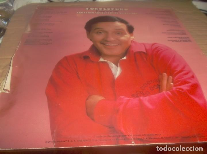 Discos de vinilo: LP - TORREBRUNO - EL AMIGO DE LOS NIÑOS-CANTANDO SUS EXITOS DE TELEVISION- HISPAVOX-1981 - Foto 2 - 278403398