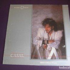 Discos de vinilo: TINO CASAL – PANICO EN EL EDEN - MAXI SINGLE HARVEST 1984 - MOVIDA POP DISCO 80'S - ELECTRONICA. Lote 278405333