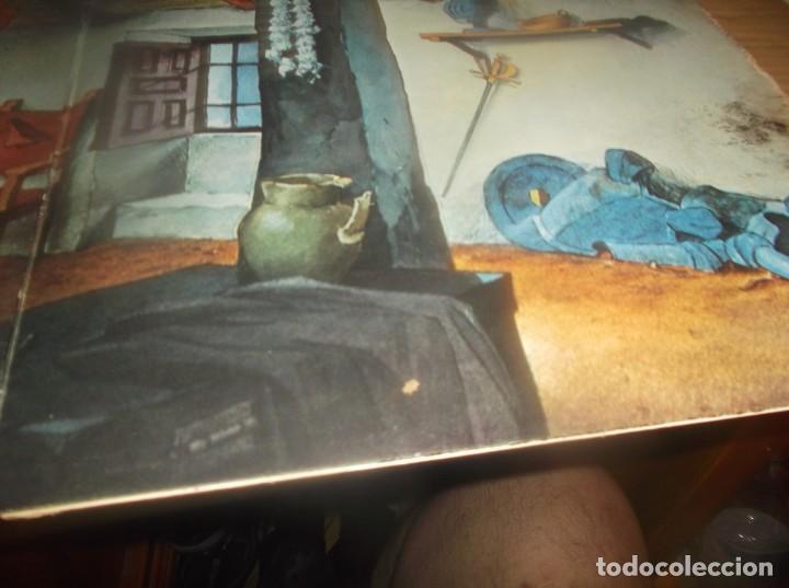 Discos de vinilo: LP- BOTONES Don Quijote de la Mancha- TVE DIBUJOS ANIMADOS LP 1979 Epic CARPETA ABIERTA - Foto 5 - 278405703