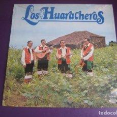 Discos de vinilo: LOS HUARACHEROS - LP MOVIEPLAY 1978 - FOLK TRADICIONAL ISLAS CANARIAS - VINILO SIN USO. Lote 278406473