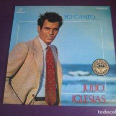 Discos de vinilo: JULIO IGLESIAS – YO CANTO - LP COLUMBIA 1978 - MELODICA LATINA - EDICION STEREO DE SU 1ER LP. Lote 278410613