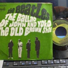 Discos de vinilo: THE BEATLES SINGLE THE BALLAD OF JOHN AND YOKO FRANCIA. Lote 278412788