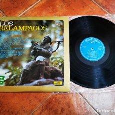 Discos de vinilo: LOS RELAMPAGOS LP VINILO DEL AÑO 1972 ESPAÑA ZAFIRO SERIE ETIQUETA VERDE CONTIENE 12 TEMAS. Lote 278413238