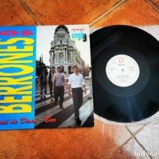 Discos de vinilo: LOS BERRONES ANIMAL DE DISCO-BAR MAXI SINGLE VINILO DEL AÑO 1993 ESPAÑA CONTIENE 2 TEMAS MOVIDA RARO. Lote 278414773
