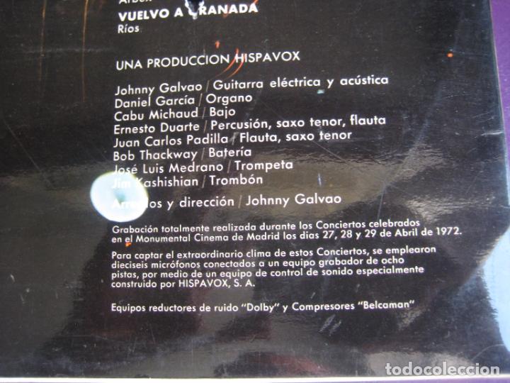 Discos de vinilo: Miguel Ríos – Conciertos De Rock Y Amor En Directo - LP HISPAVOX 1972 - EDICION ORIGINAL SIN APENAS - Foto 4 - 278414778