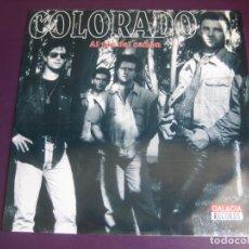 Discos de vinilo: COLORADO - AL PIÉ DEL CAÑÓN - LP GAL&CIA 1994 - COUNTRY ROCK N ROLL - DIRIA Q SIN ESTRENAR. Lote 278415993