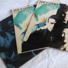 Discos de vinilo: 3 LPS VINILO DE MECANO, DESCANSO DOMINICAL, ENTRE EL CIELO Y EL SUELO. Lote 278416938