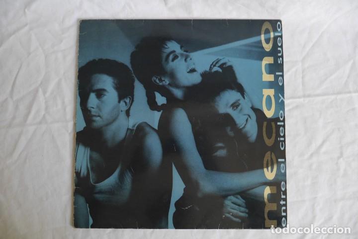 Discos de vinilo: 3 LPs vinilo de Mecano, descanso dominical, entre el cielo y el suelo - Foto 11 - 278416938