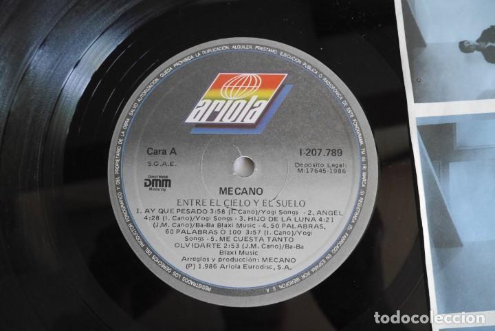 Discos de vinilo: 3 LPs vinilo de Mecano, descanso dominical, entre el cielo y el suelo - Foto 14 - 278416938