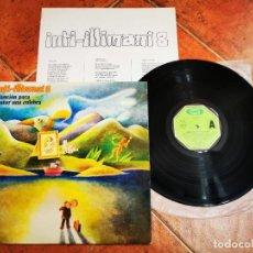 Discos de vinilo: INTI-ILLIMANI 8 CANCION PARA MATAR UNA CULEBRA LP VINILO AÑO 1979 ESPAÑA ENCARTE FOLK 12 TEMAS RARO. Lote 278417448
