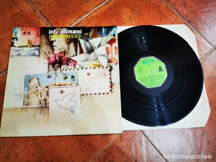 INTI-ILLIMANI PALIMPSESTO LP VINILO DEL AÑO 1982 ESPAÑA MOVIEPLAY GONG FOLK 9 TEMAS RARO (Música - Discos - LP Vinilo - Country y Folk)