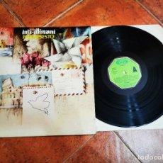Discos de vinilo: INTI-ILLIMANI PALIMPSESTO LP VINILO DEL AÑO 1982 ESPAÑA MOVIEPLAY GONG FOLK 9 TEMAS RARO. Lote 278417923