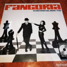 Discos de vinilo: FANGORIA EXISTENCIALISMO POP LP VINILO BLANCO + CD PRECINTADO 2021 5 TEMAS JUAN GATTI. Lote 278418778