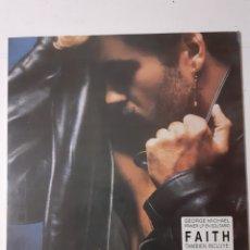 Discos de vinilo: GEORGE MICHAEL. FAITH. 1987 ESPAÑA. EPC 460000 1. DISCO VG++.CARÁTULA VG++. FUNDA INTERIOR ORIGINAL. Lote 278423368