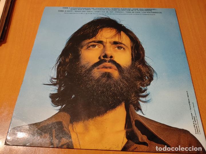 Discos de vinilo: SIMONE (LUIS GÓMEZ ESCOLAR). CBS. SPAIN 1974 LP + DOBLE CUBIERTA (JUAN CARLOS CALDERON) CANTAUTORR - Foto 3 - 278426703