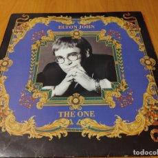 Discos de vinilo: ELTON JOHN (LP) THE ONE AÑO 1992 – ENCARTE CON LETRAS BUEN ESTADO. Lote 278426788