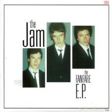 "Discos de vinilo: 7"" THE JAM - FANFARE EP - FFR07-01 - VINILO ROJO - NUEVO !!!!. Lote 278427028"