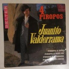 Discos de vinilo: JUAN VALDERRAMA - 4 PIROPOS. Lote 278428043
