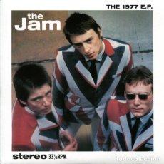 """Discos de vinilo: 7"""" THE JAM - THE 1977 E.P. - JAM77EP001 - NUEVO !!!!. Lote 278428833"""
